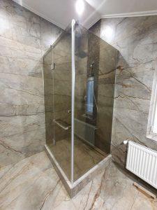 Цветное стекло Бронза для двери в баню от компании KUB, Одесса