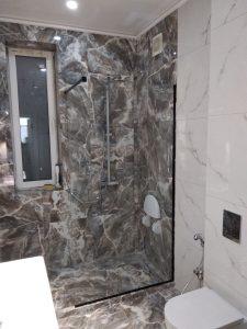 Стекло Extra Clear без характерного зеленоватого оттенка для двери в баню